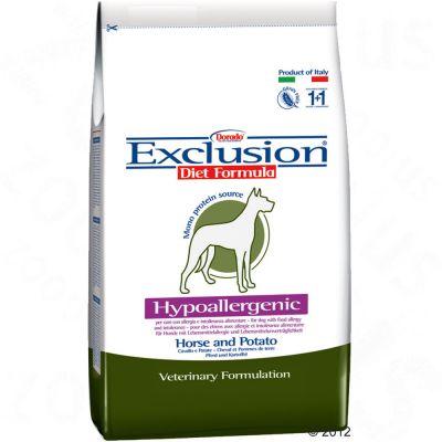 Exclusion hundfoder med häst&potatis - Ekonomipack: 2 x 12,5 kg