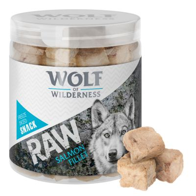 Wolf of Wilderness - gevriesdroogde Premium-Snacks - zalm