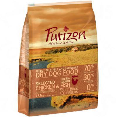 Purizon Adult Chicken & Fish – Ekonomipack: 2 x 13,5 kg
