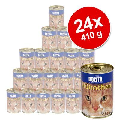 Bozita-purkkiruoka säästöpakkaus: 24 x 410 g - kana
