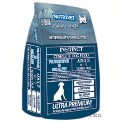 Nutrivet Instinct Nutritive & Health – 12 kg