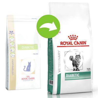 Royal Canin Diabetic Veterinary Diet pienso para gatos - 2 x 3,5 kg - Pack Ahorro