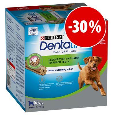 Purina Dentalife snacks dentales para perros ¡a precio especial! - Perros medianos (12-25 kg) - 84 barritas (28 x 69 g)