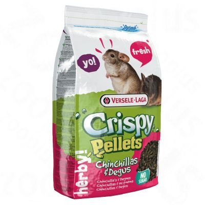 Versele-Laga Crispy Pellets Chinchillas & Degus - 2 x 1 kg