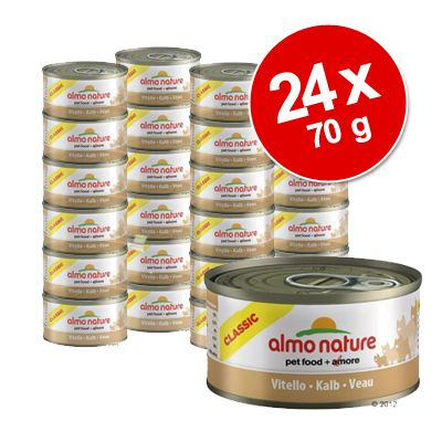Ekonomipack: 24 x 70 g Almo Nature Legend – Tonfisk från Atlanten