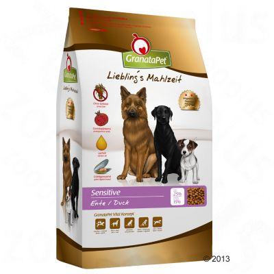 GranataPet Liebling's Mahlzeit Adult Sensitive Anka – Ekonomipack: 2 x 10 kg