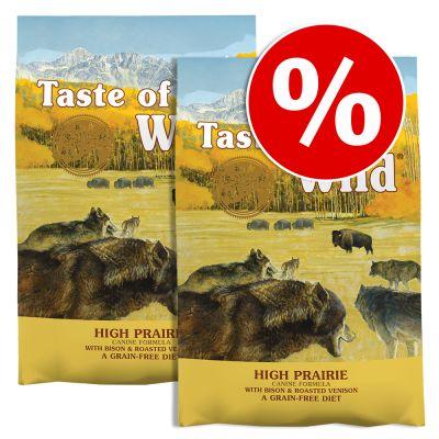 Pack Ahorro: Taste of the Wild 2 x 12,2 / 13 kg - Wetlands (2 x 12,2 kg)