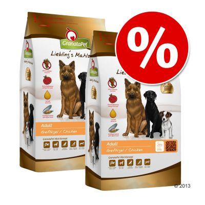 Ekonomipack: GranataPet hundfoder till lågpris! – Adult Sensitive Anka (2 x 10 kg)