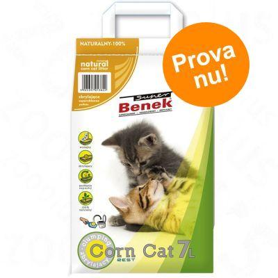 Provpack: 7 l Super Benek kattsand - Corn Cat Ocean Breeze
