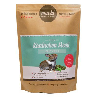 Mucki Active & Fit -kaninruoka - 2 kg