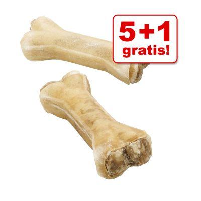 5 + 1 gratis! Barkoo kość do gryzienia, 6 szt. - - Z nadzieniem ze żwaczy wołowych, ok. 17 cm