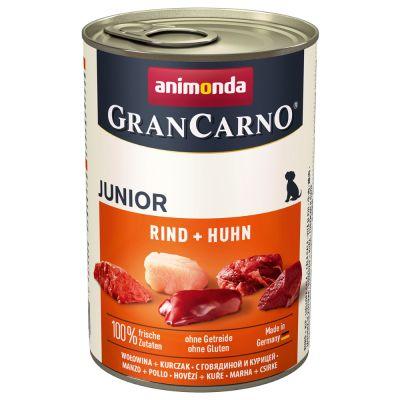 Animonda GranCarno Original Junior 6 x 400 g