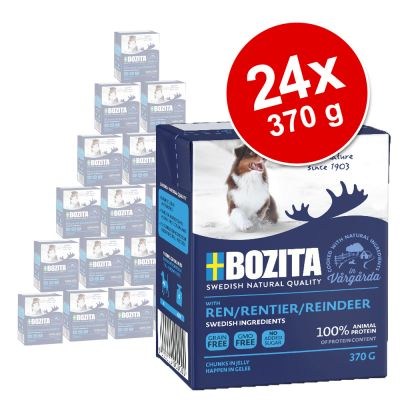 Bozita Chunks in Jelly 24 x 370 g - poro