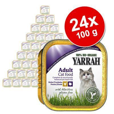 yarrah-bio-gazdasagos-csomag-24-x-100-g-pastetom-csirke-pulyka-aloe-vera