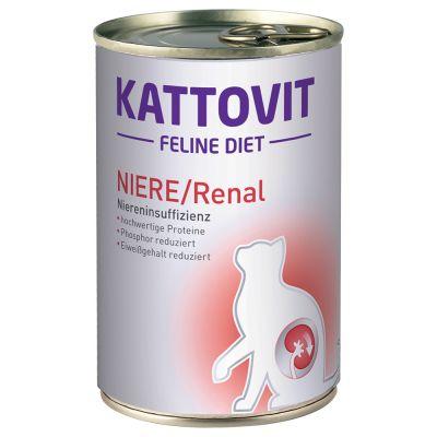 Kattovit Renal Diet -märkäruoka - 6 x 400 g