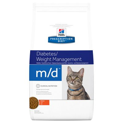 Hill's Prescription Diet m/d Diabetes/Weight Management Katzenfutter mit Huhn