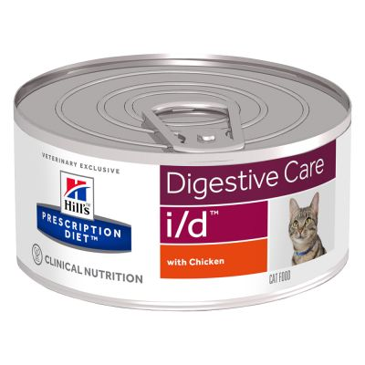 Hill's Prescription Diet Feline i/d Digestive Care - kana - 6 x 156 g