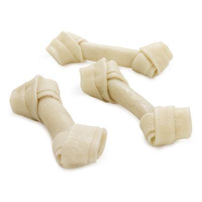 Barkoo huesos con nudos de cerdo para perros - 24 x 13 cm - Pack Ahorro