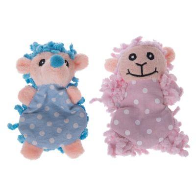 Moppi Sheep & Hedgehog Catnip Cat Toy - Moppi Hedgehog & Sheep Dual Set