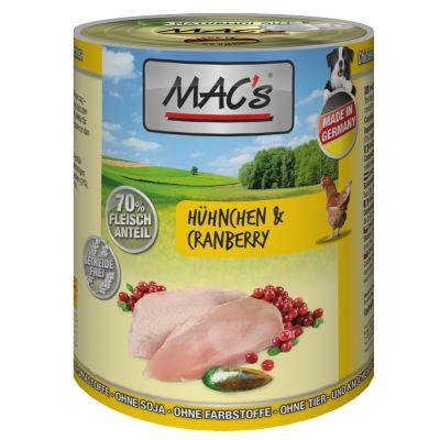 MAC's Adult 6 x 400 g - kana & karpalo
