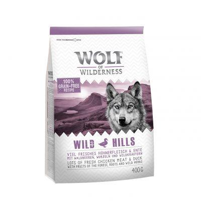 """Wolf of Wilderness Adult """"Wild Hills"""" - Ente Probierpaket"""