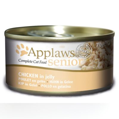Multipack Applaws Senior in Jelly 24 x 70 g