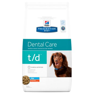 Hill´s Prescription Diet Canine t/d Mini Dental Care - kana - 3 kg