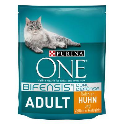 Purina ONE Bifensis Adulto pollo y cereales integrales - 2 x 9,75 kg - Pack Ahorro