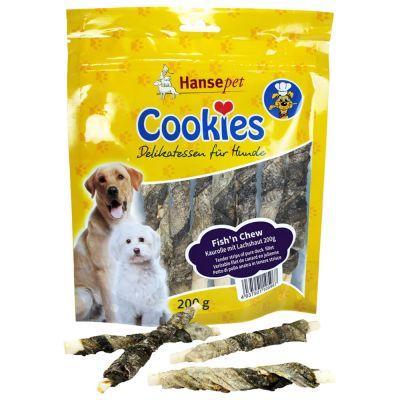 Cookies Fish´n Chew -lohennahkatikut - 2 x 200 g