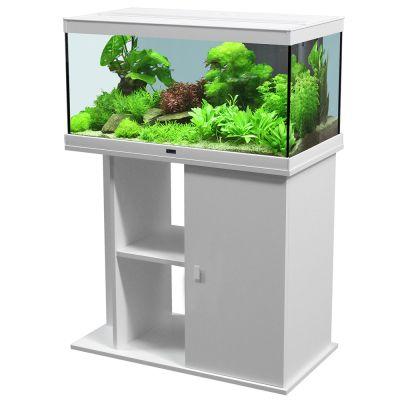 Aquatlantis Style LED 80 x 35 -akvaariopaketti - valkoinen