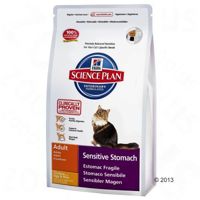hill-feline-sensitive-stomach-adult-kattenvoer-dubbelpak-2-x-5-kg