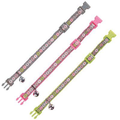 Trixie Kattenhalsband Spring Nylon - Verschillende kleuren