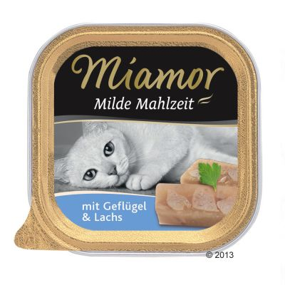 Miamor Mild Meal 6 x 100 g – Kyckling & forell