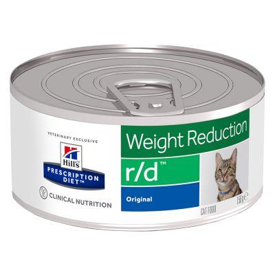 Sparpaket Hill's Prescription Diet Feline Dose 24 x 156 g - Feline Metabolic - Gewichtsabnahme