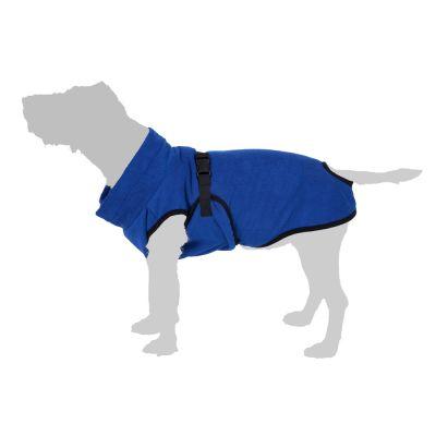 Župan pro psy z mikrovlákna L: cca. 73 cm délka zad