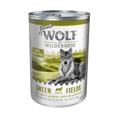 "Wolf of Wilderness Senior ""Green Fields"" - Lamm"