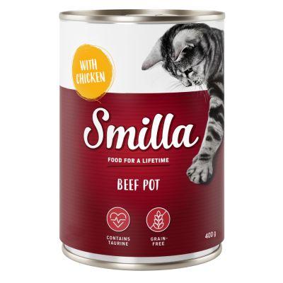 Smilla-nautapatasekoitus - 6 x 400 g (4 makua)