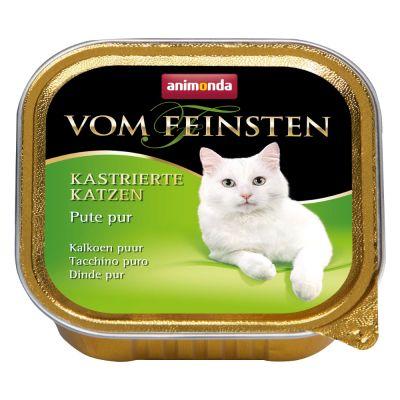 Animonda vom Feinsten für kastrierte Katzen 6 x 100 g - Pute & Forelle