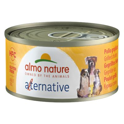 Almo Nature HFC Alternative Dog grillattu kana - 6 x 70 g