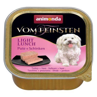 Animonda Vom Feinsten Light Lunch 6 x 150 g - kalkkuna & kinkku
