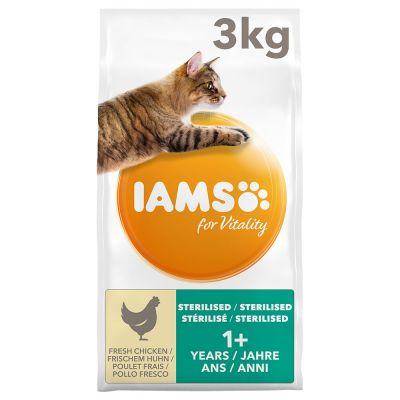 IAMS Vitality Cat Adult Sterilised Chicken - 10 kg