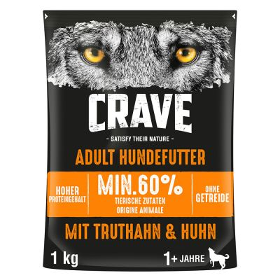 Crave Adult Dog Turkey & Chicken - 1 kg