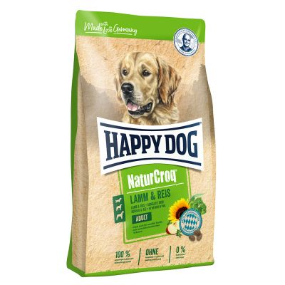 Happy Dog NaturCroq Lamb & Rice - 15 kg