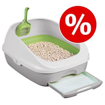 Purina Tidy Cats Breeze Cat Litter Box System erikoishintaan - 50 % - aloituspaketti (kissanvessa + tarvikkeet kuukaudeksi)