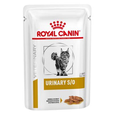 Royal Canin Urinary S/O Veterinary Diet sobres para gatos - Paté 12 x 85 g
