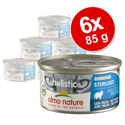 Almo Nature Holistic Specialised Nutrition 6 x 85 g - Digestive Help, meriantura