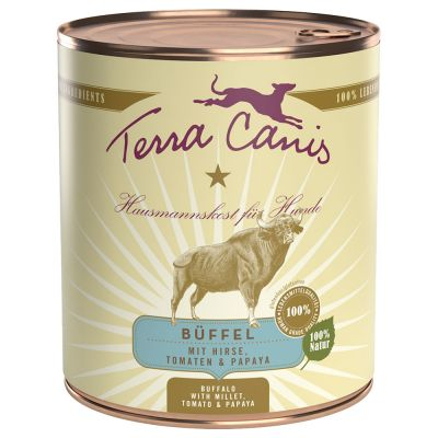 Terra Canis 6 x 800 g – hevonen, amarantti, persikka & punajuuri