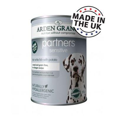 Arden Grange Partners Sensitive pour chien - 6 x 395 g