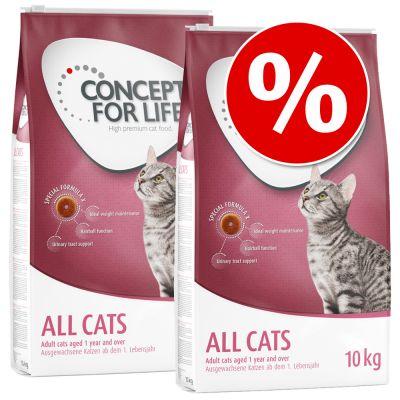 Säästöpakkaus: 2 x Concept for Life -kissanruokaa - Mum & Young Kittens (2 x 3 kg)