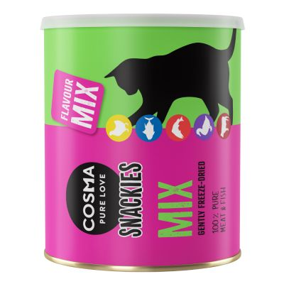 Cosma Snackies Maxi Tube - gefriergetrocknete Katzensnacks